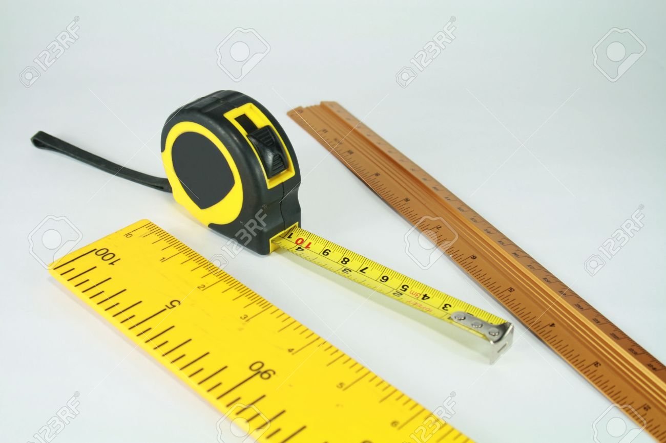 Different Types Of Rulers Stock Photo, Picture And Royalty Free ...