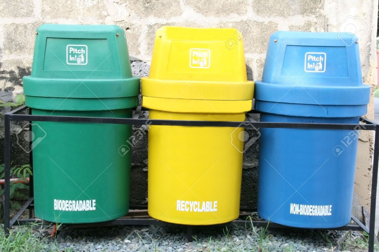 Trash Can Color Coding Code High Quality Bin For Market Gallon