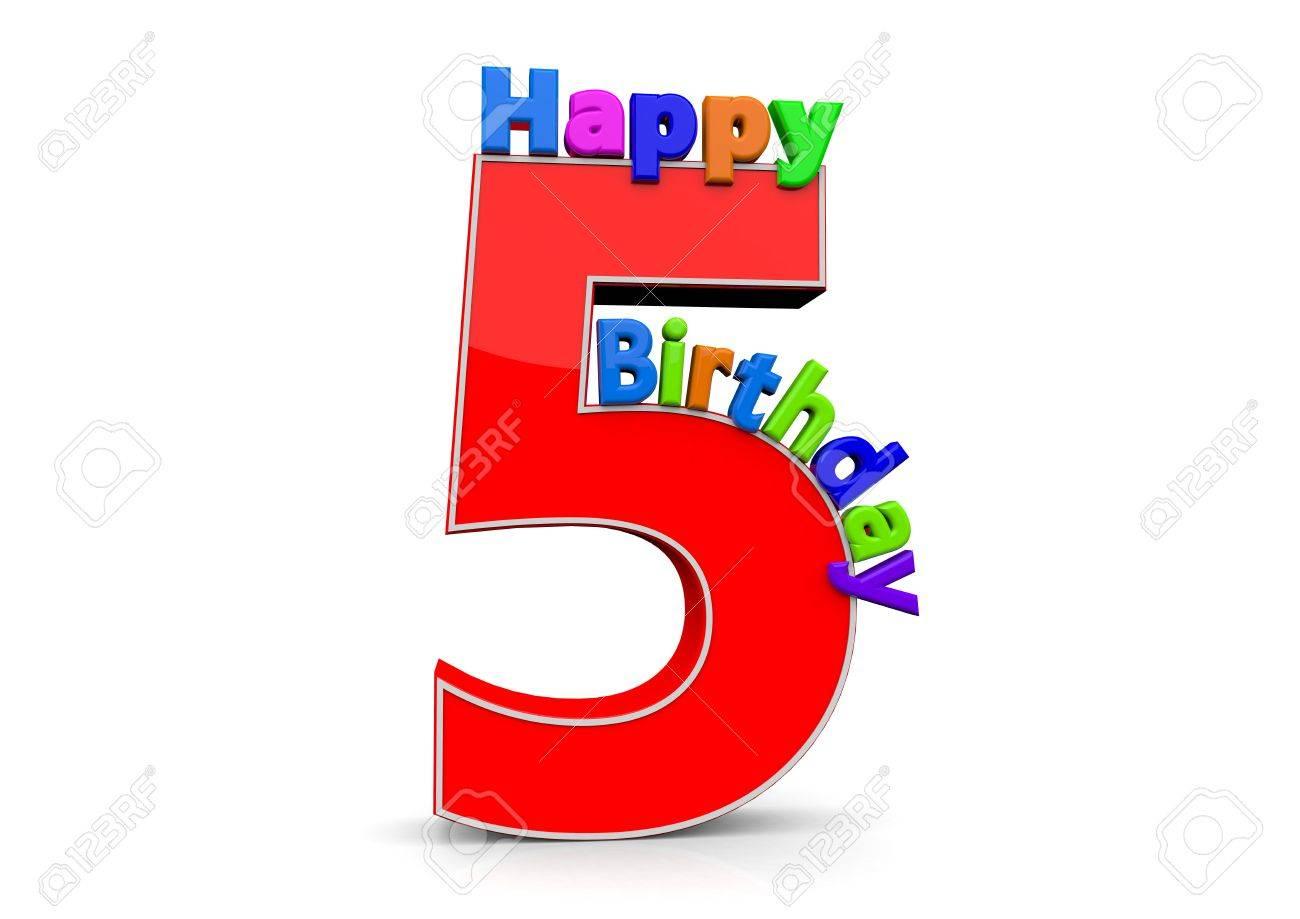 5 number birthday