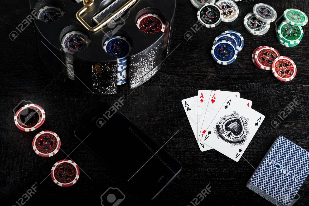 casino aces poker chips