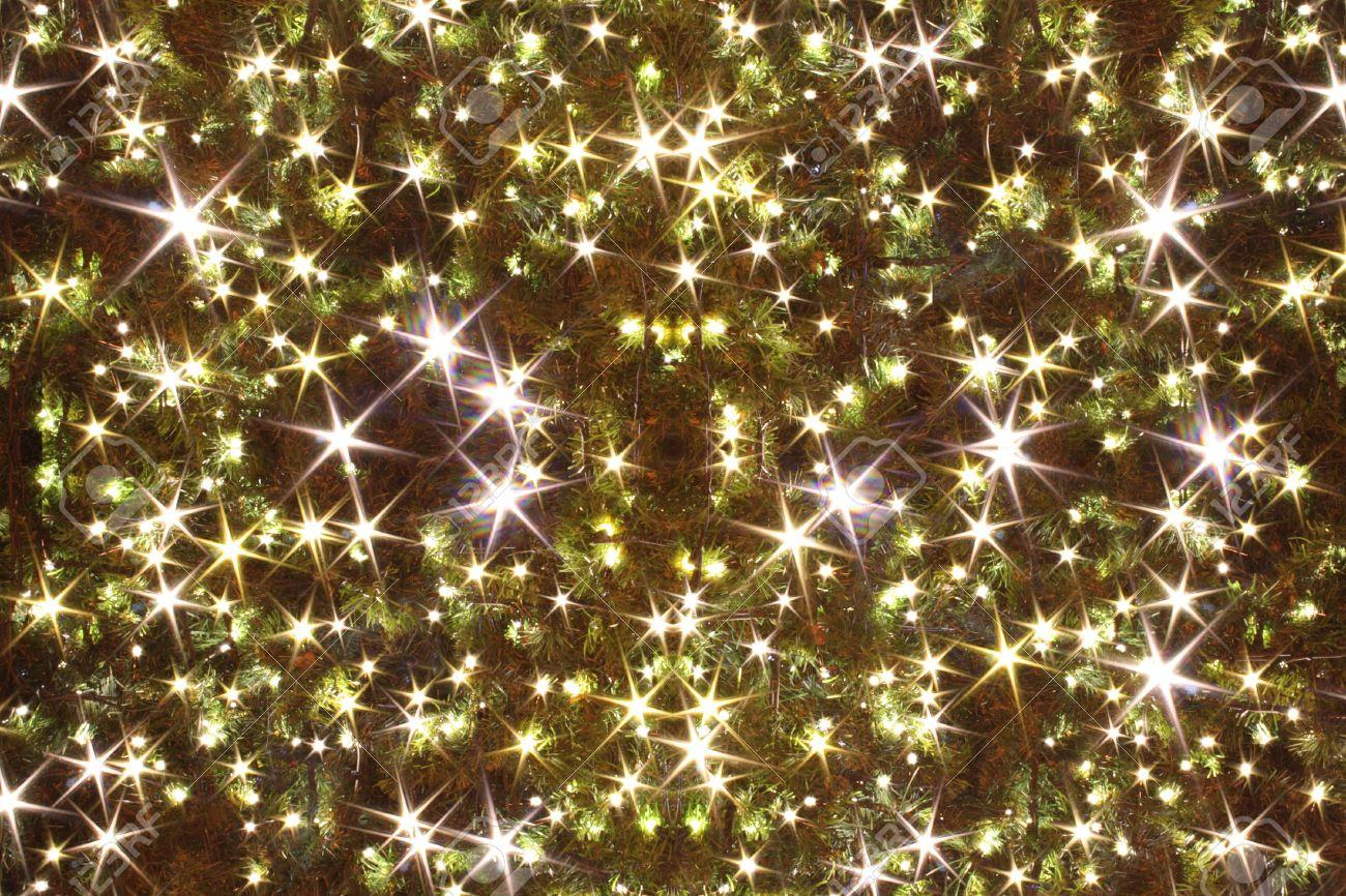 Xmas Tree (lights) As Christmas Background Stock Photo   5465319