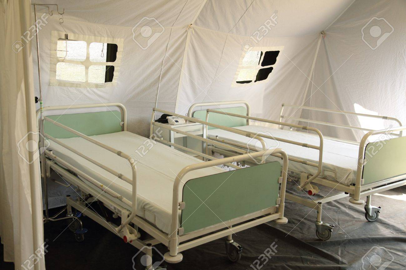 czech mobile army hospital for bilogy problems Stock Photo - 12279643