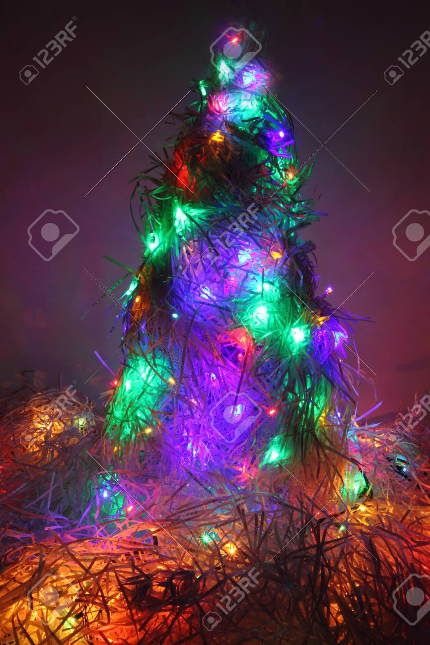 Christmas Tree As Very Nice Xmas Background Stock Photo, Picture And ...