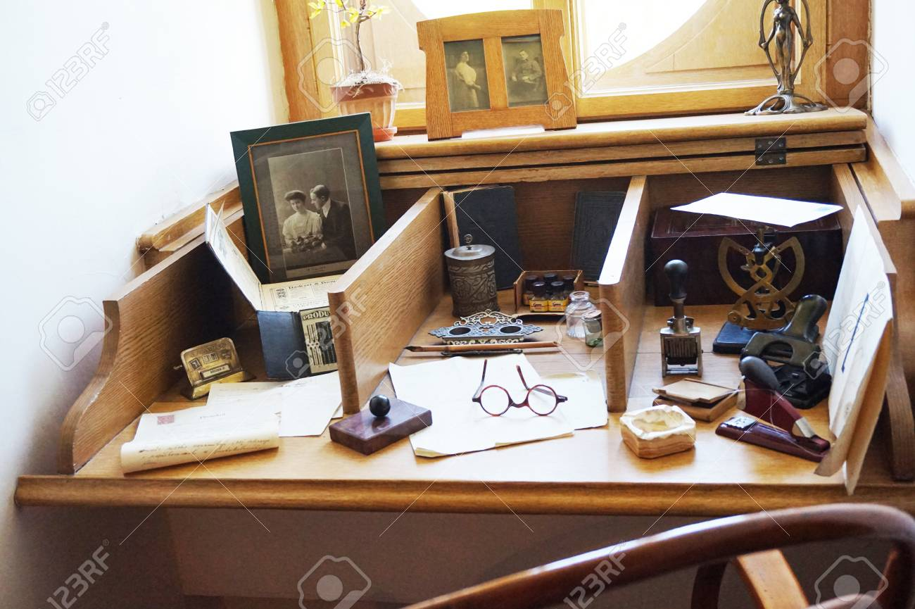 Old Office Interior As Very Nice Background Stock Photo Picture And Royalty Free Image Image 115436814