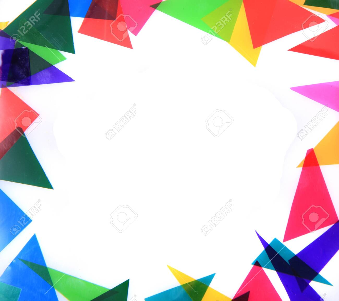 abstract color triangles texture as very nice background - 150088901