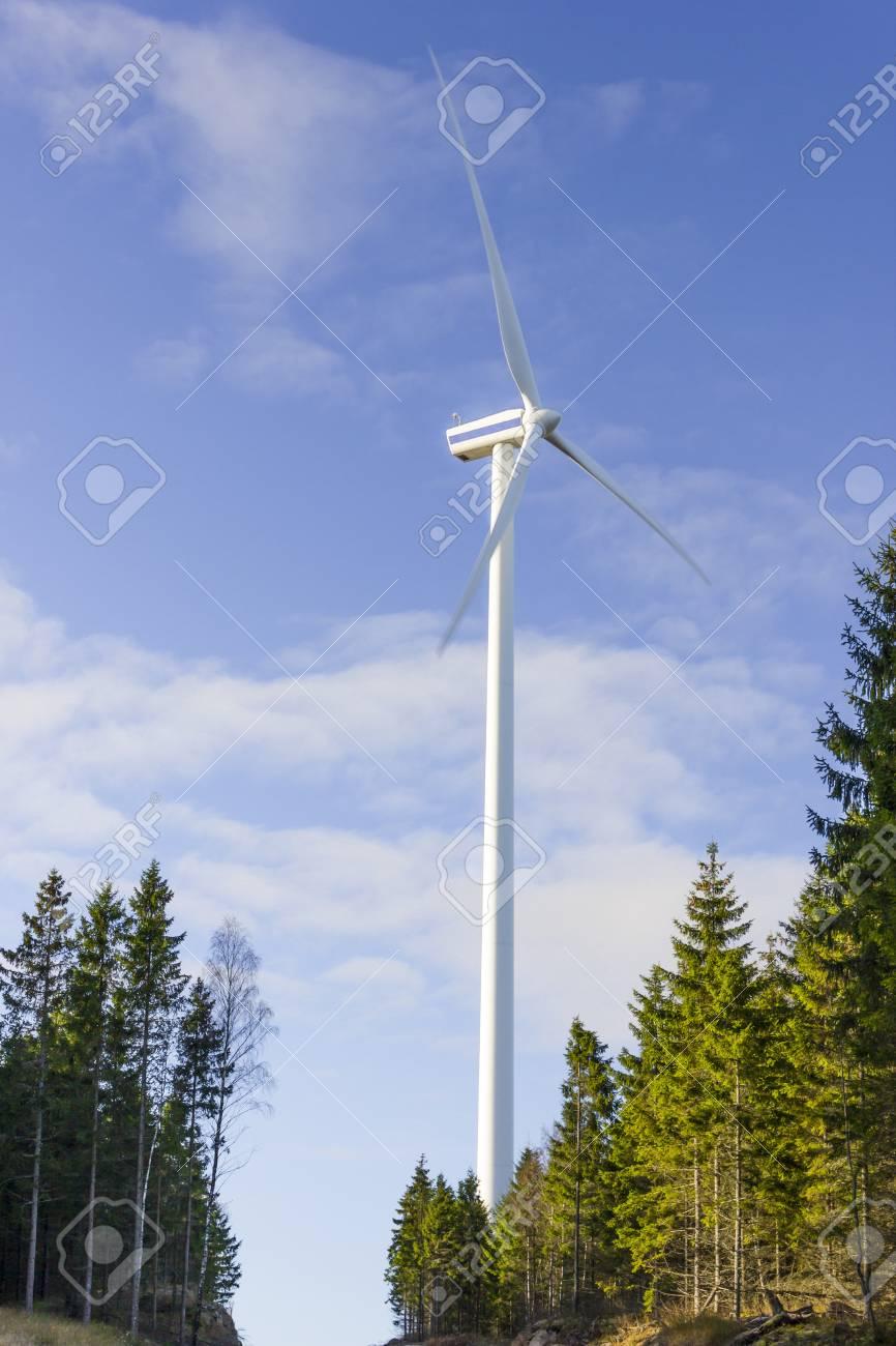 Electric tower windmill generator Stock Photo - 17751882