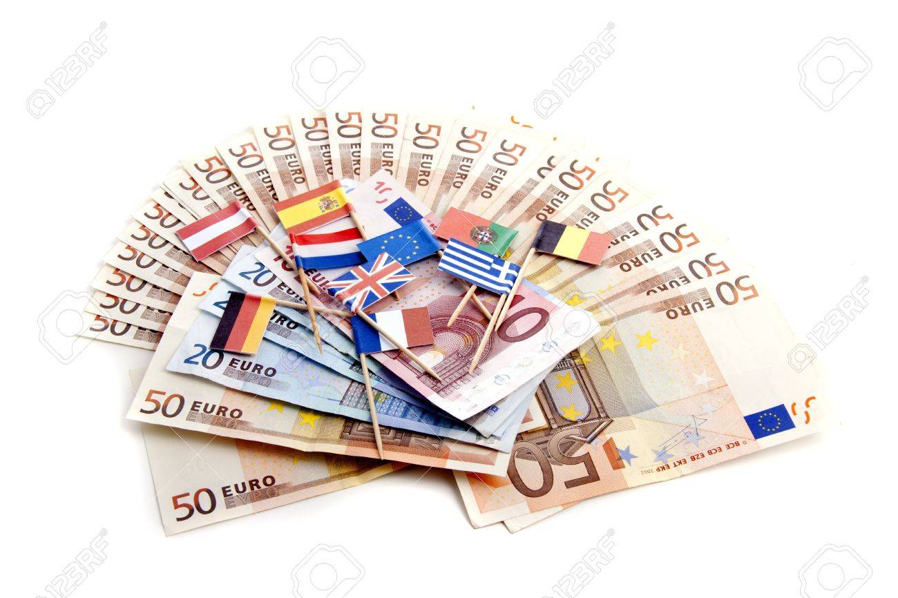 Conceptual interpretation of the economic crisis in Europe Stock Photo - 12429498