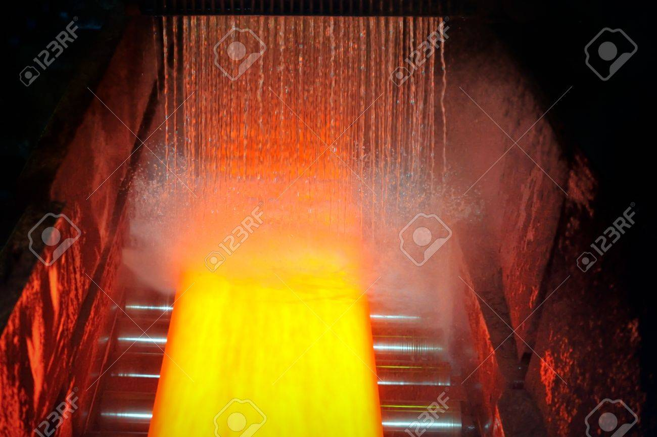 cooling hot steel plate Stock Photo - 16475398