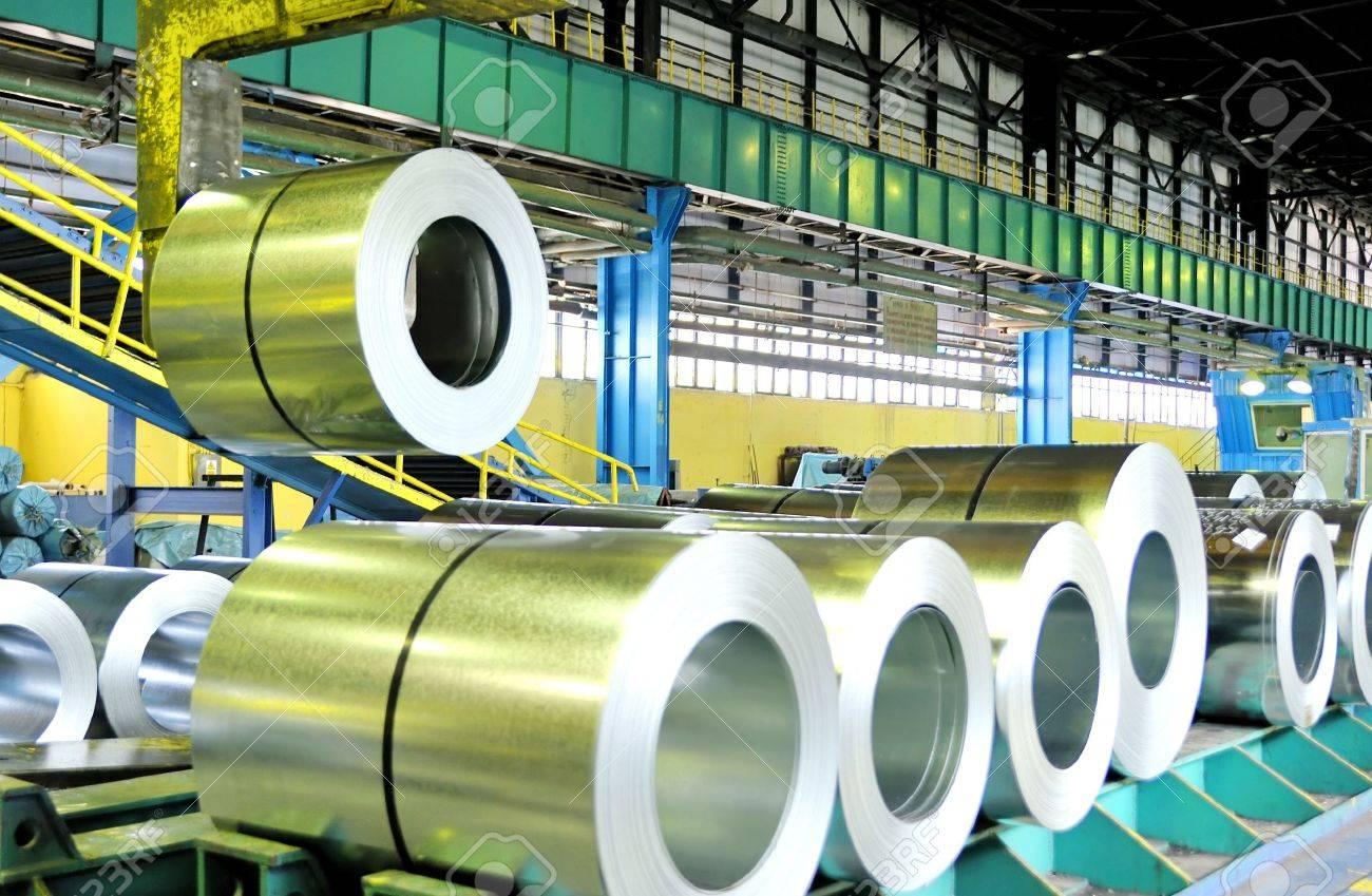 rolls of steel sheet Stock Photo - 16477692