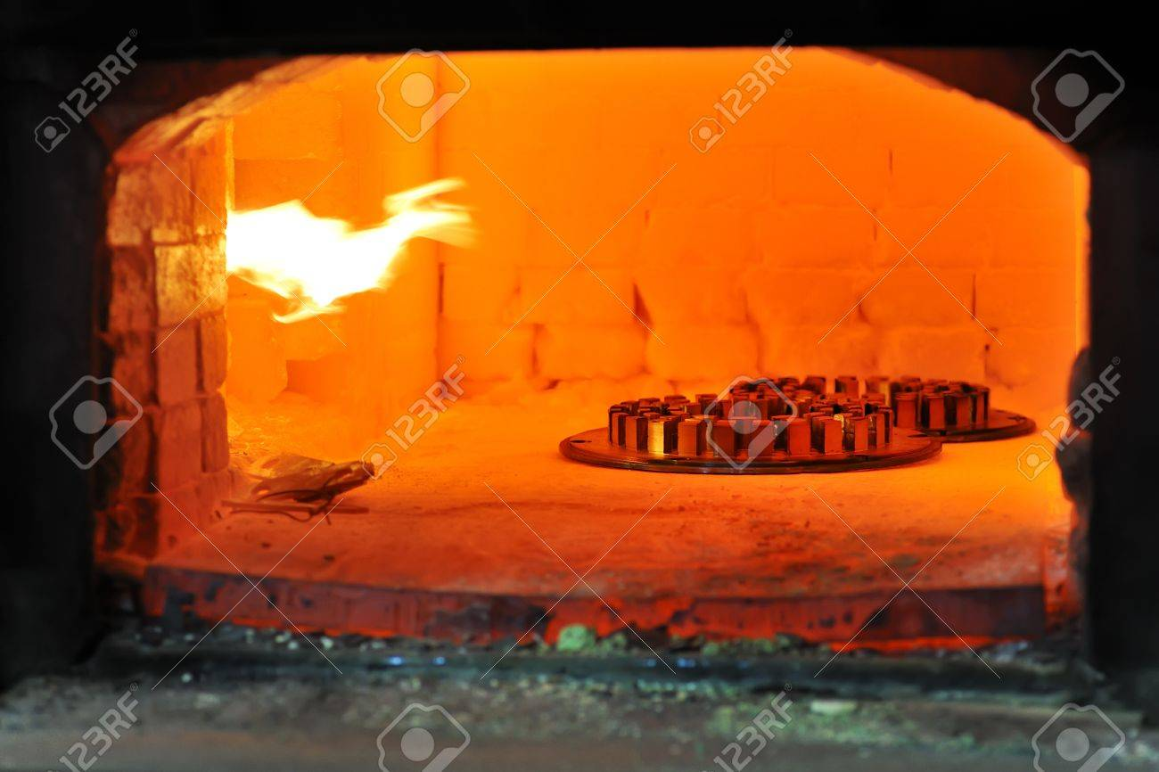 factory oven for steel Stock Photo - 16473938