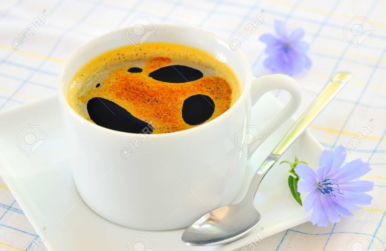 Chicory hot drink Stock Photo - 16474615