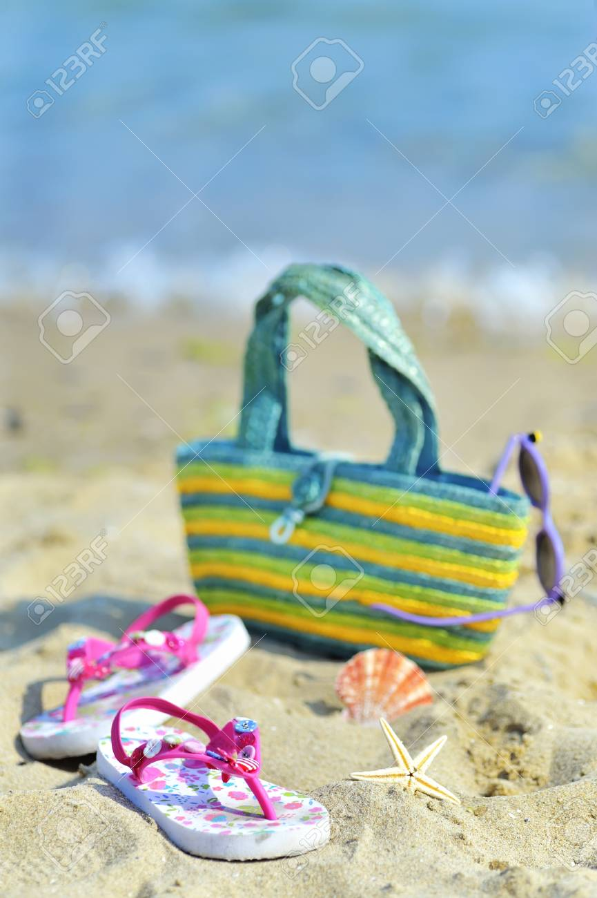 Children s beach accessories Stock Photo - 20777755