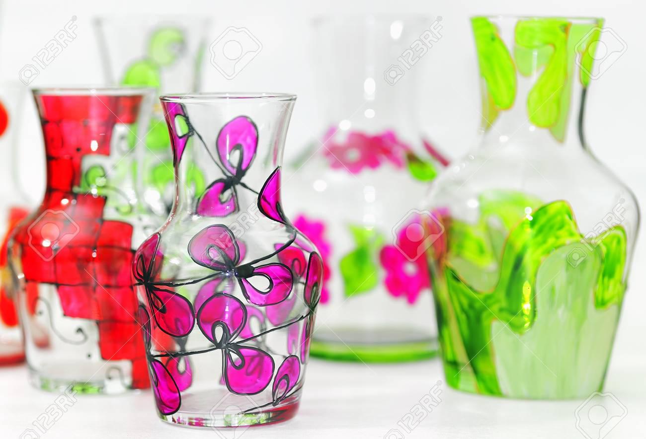 handmade vase painted Stock Photo - 16475361