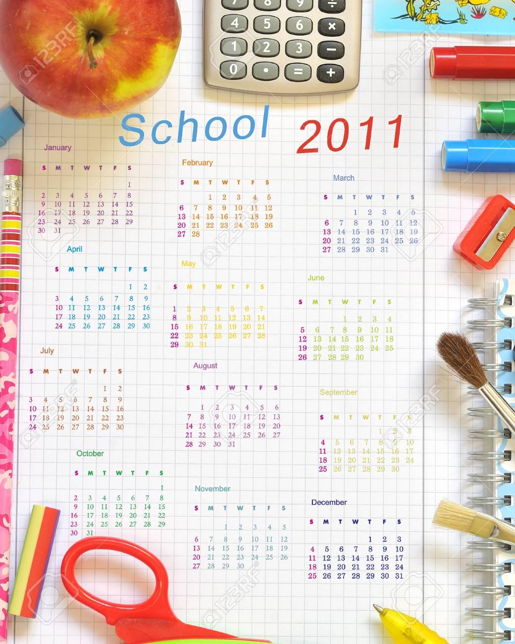 school things Stock Photo - 16481553