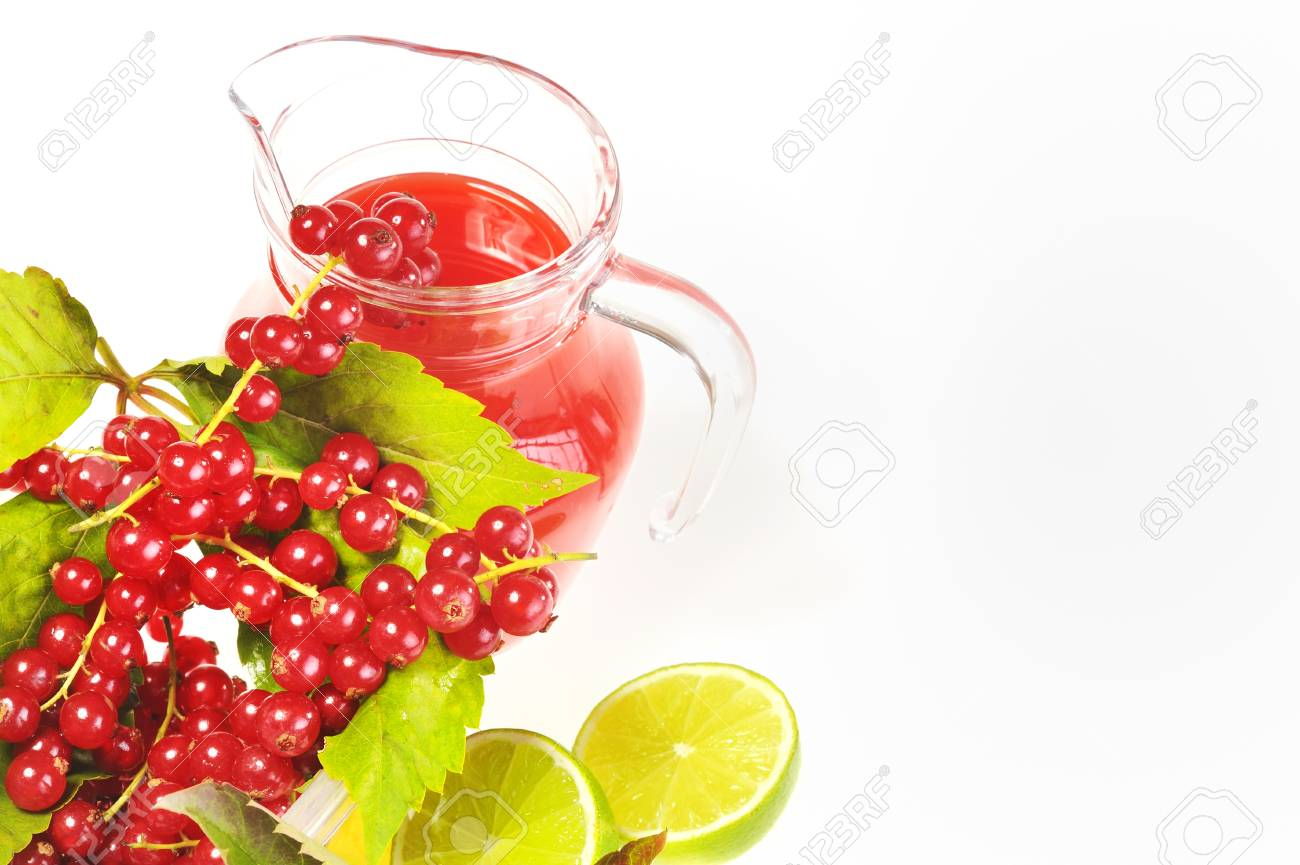 red currant juice Stock Photo - 16481224