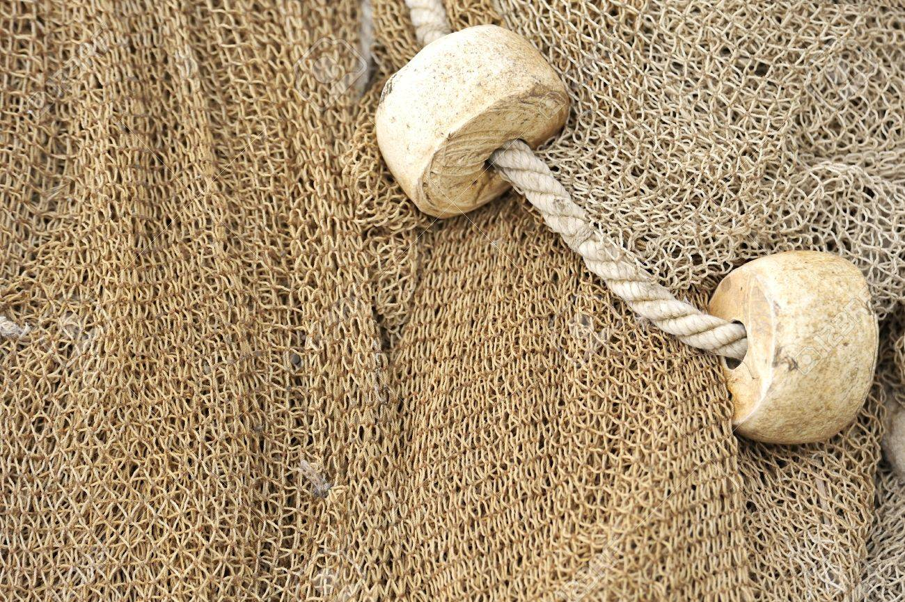 fishing net with floats Stock Photo - 16480936