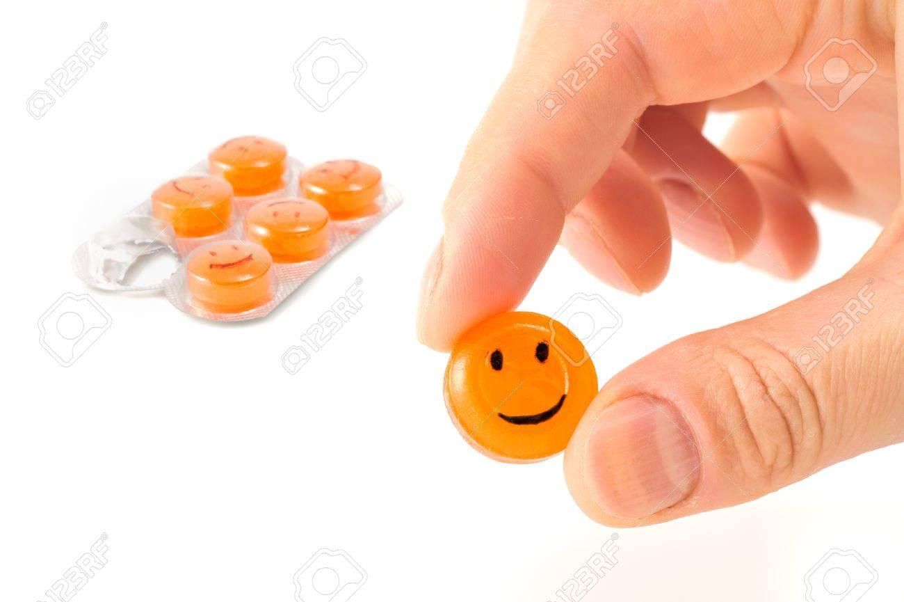 dayli smile pill Stock Photo - 16567246
