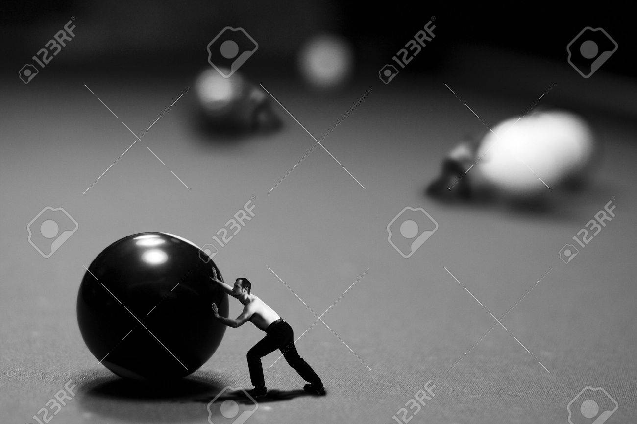 billiards black and white. billiards play in conceptual style stock photo 4975333 black and white l