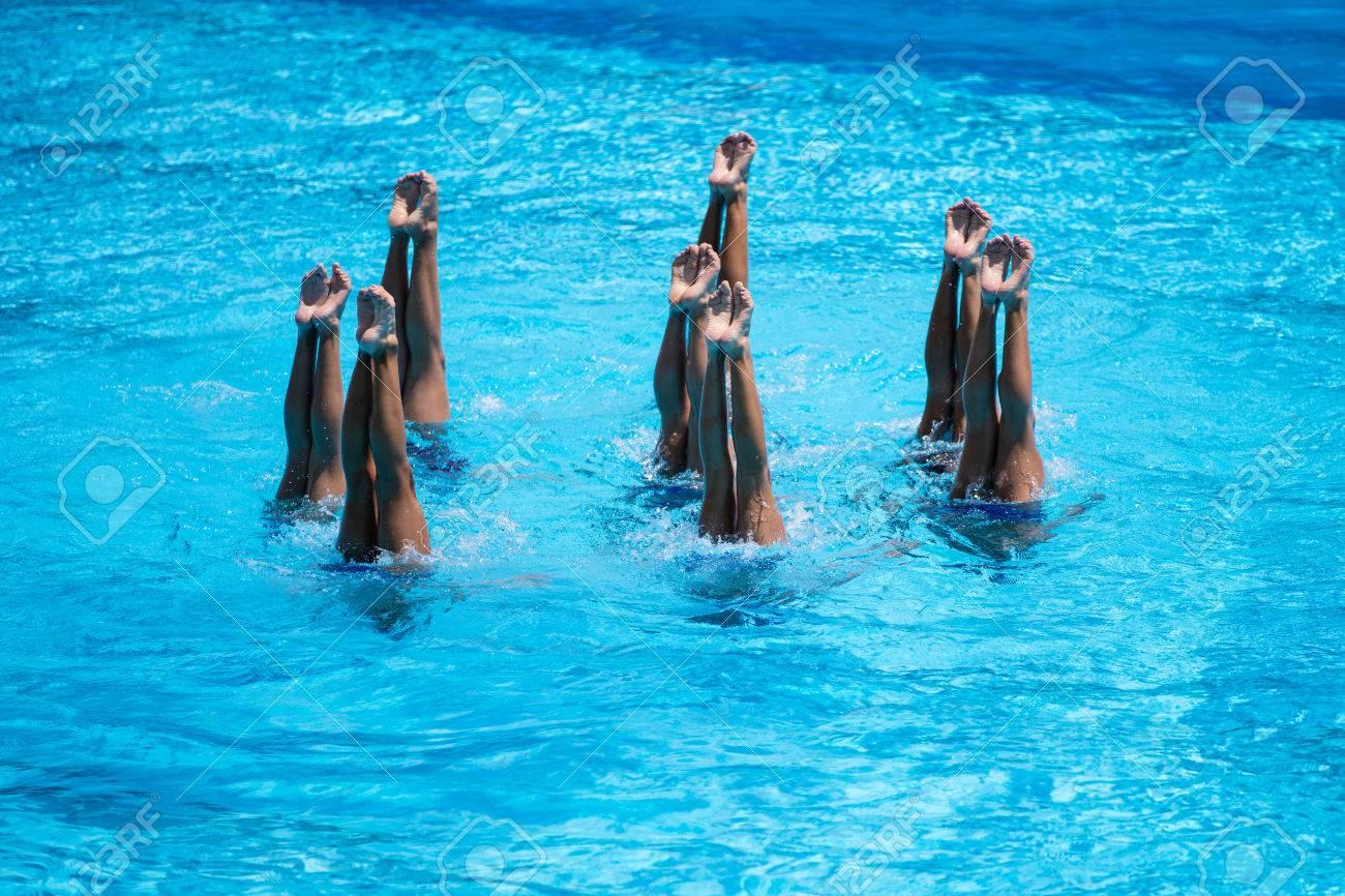 9c8a86a3c4f3 Las mujeres del equipo nacional de natación sincronizada rendimiento