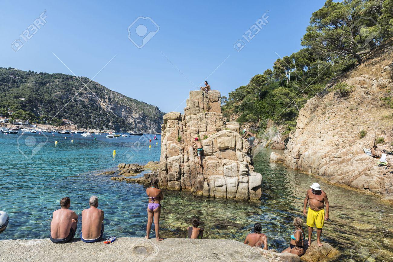 playas girona espana