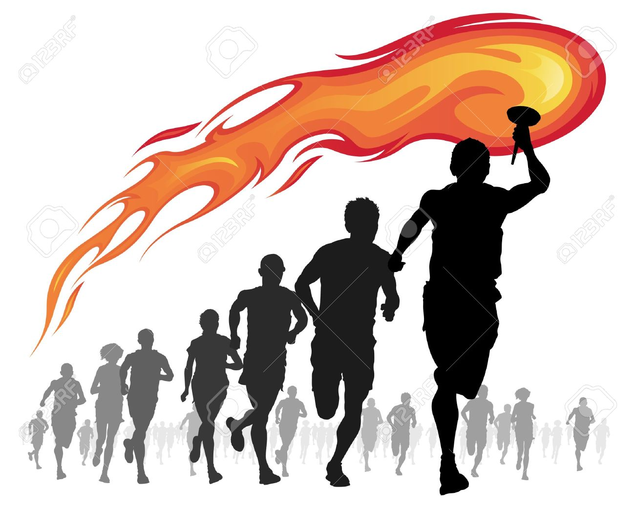 31   Amazing Sports Torch for Sports Torch Clipart  150ifm