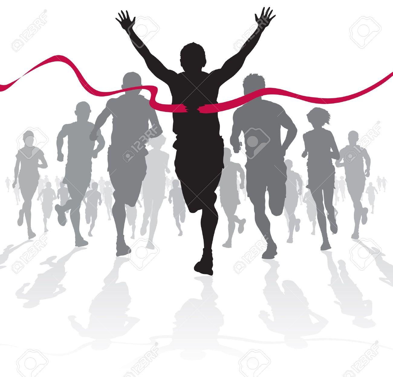 Running Finish Line Clipart The Finish Line Running