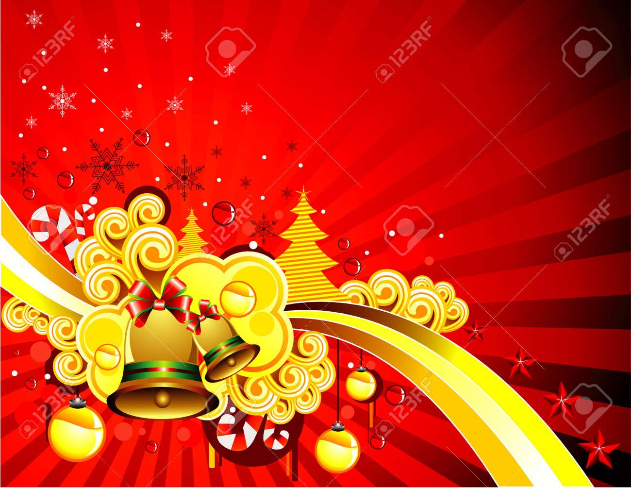 Vector illustration of fantasy shapes for christmas celebration Stock Vector - 3796251