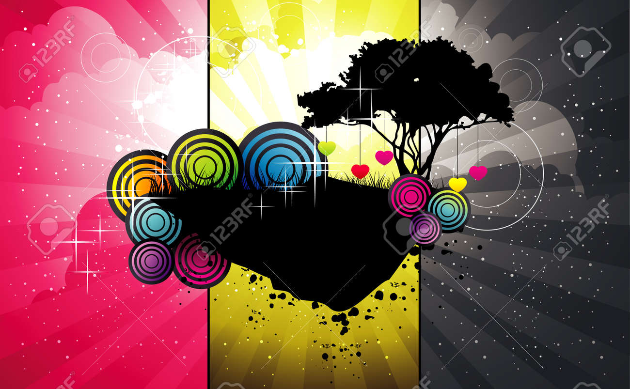 Fantastic colors and shapes Stock Vector - 7337454