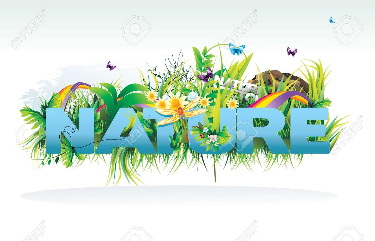 nature vector illustration Stock Vector - 9122790