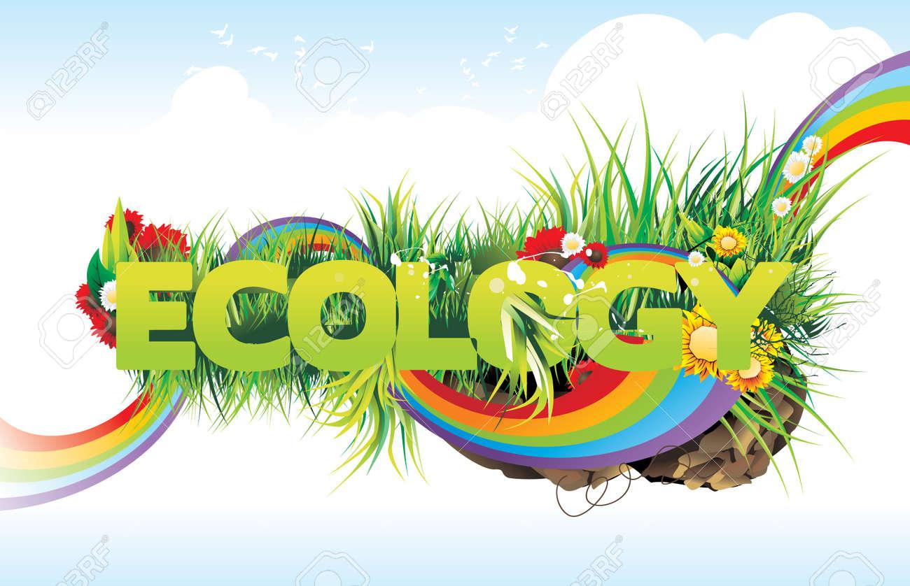 ecology vector illustration Stock Vector - 9122791