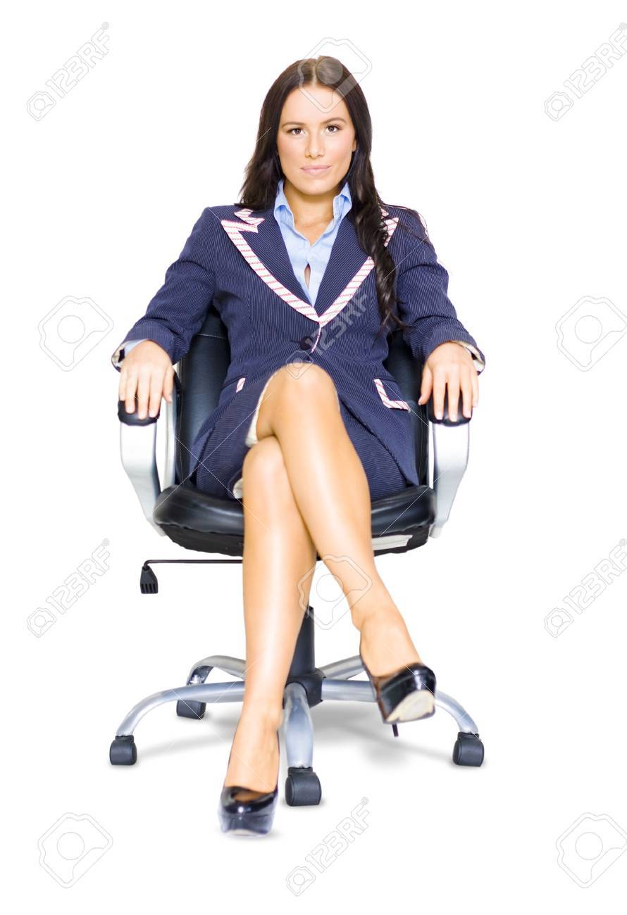 professional business w interviewee sitting on an office professional business w interviewee sitting on an office chair during questioning time at a career recruitment