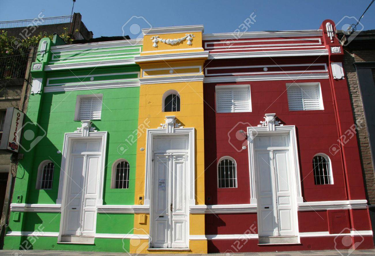 Typical architecture in Argentina Stock Photo - 2600095