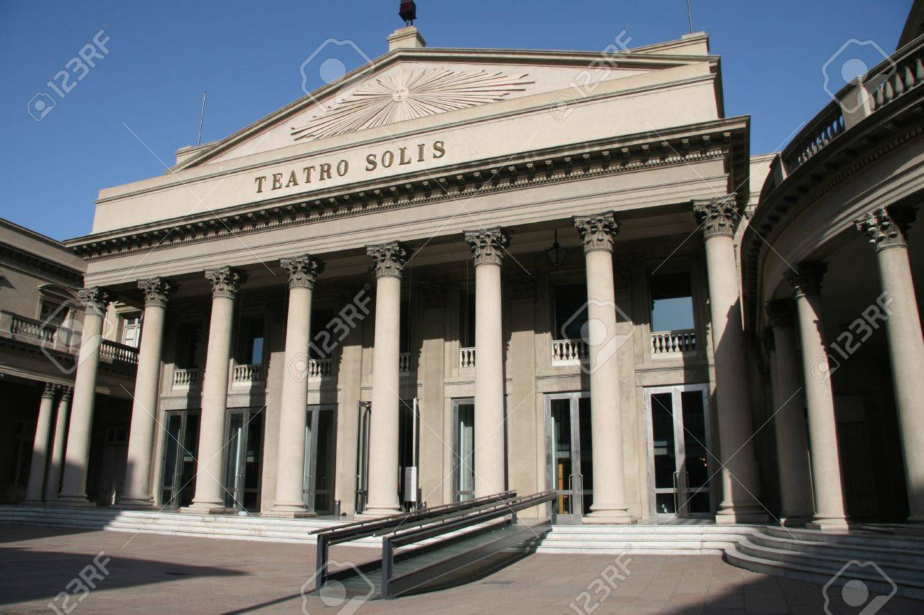 Teatro Solis, the famous opera building in Montevideo, capital of Uruguay Stock Photo - 3090914
