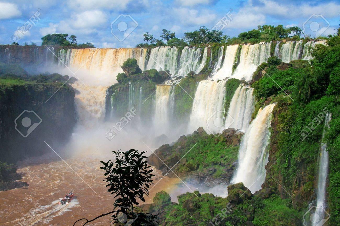 Iguazu falls in Argentina - 8152542