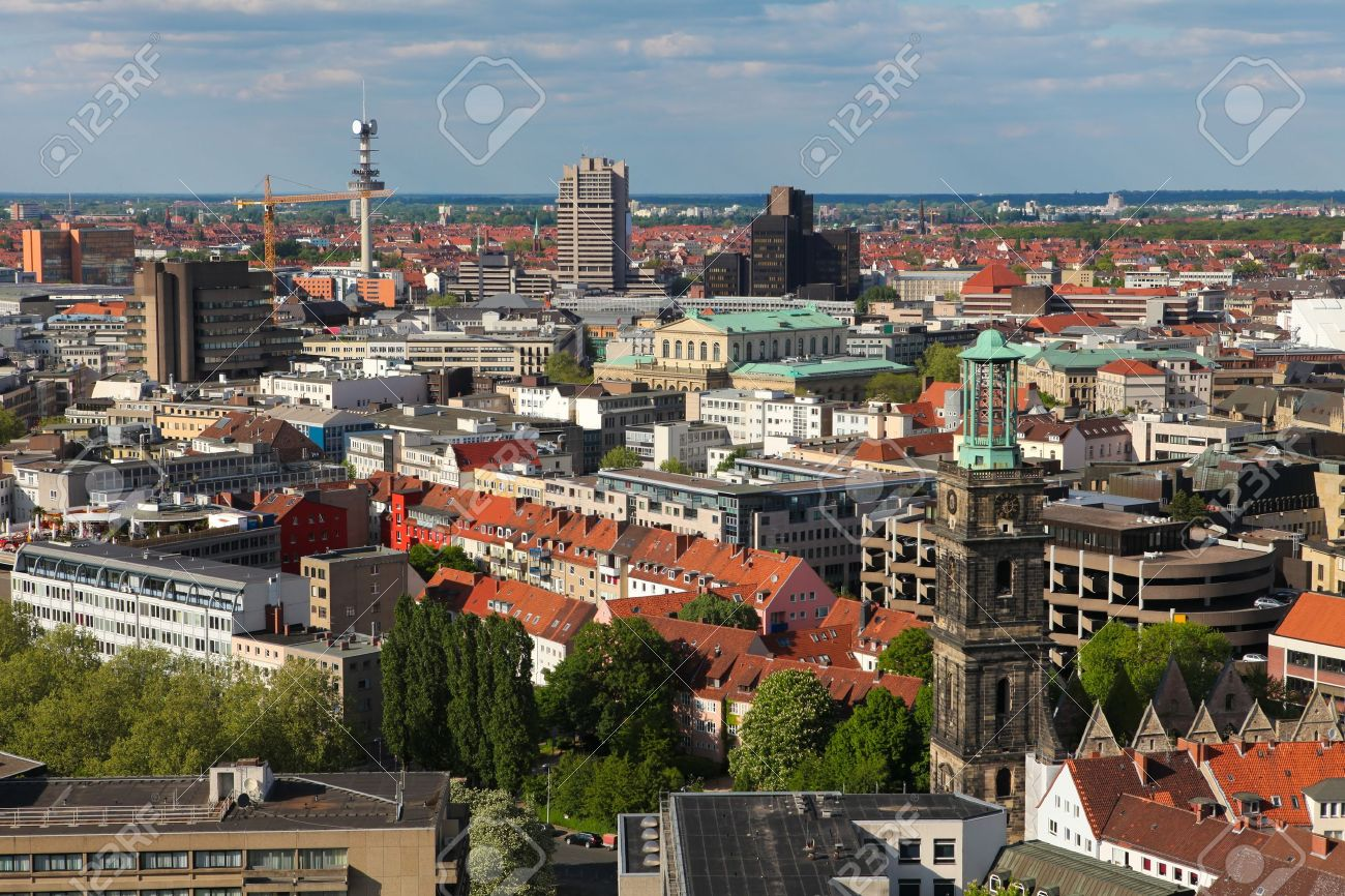 View on Hannover, Germany - 9536605