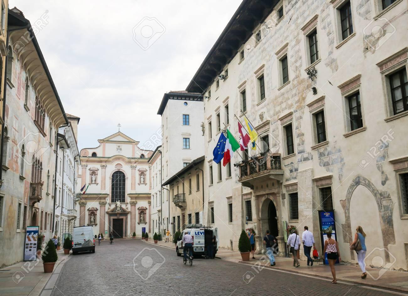 the church of san francesco saverio 18th century is one of stock