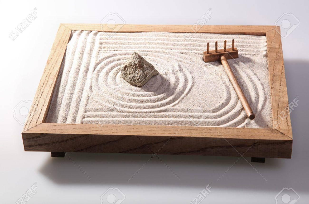 Jardin Zen Japonais Miniature mini jardin zen japonais décoration de la maison en studio banque d