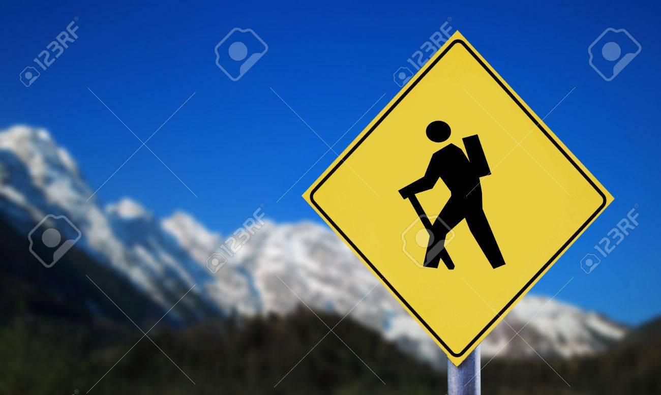 Mountain hiker - 40879749