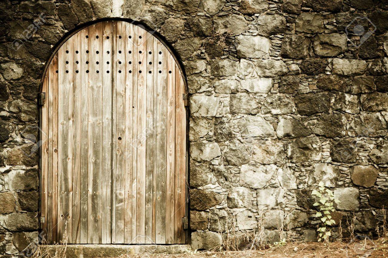 Old style entrance to an antique place. Stock Photo - 4792283