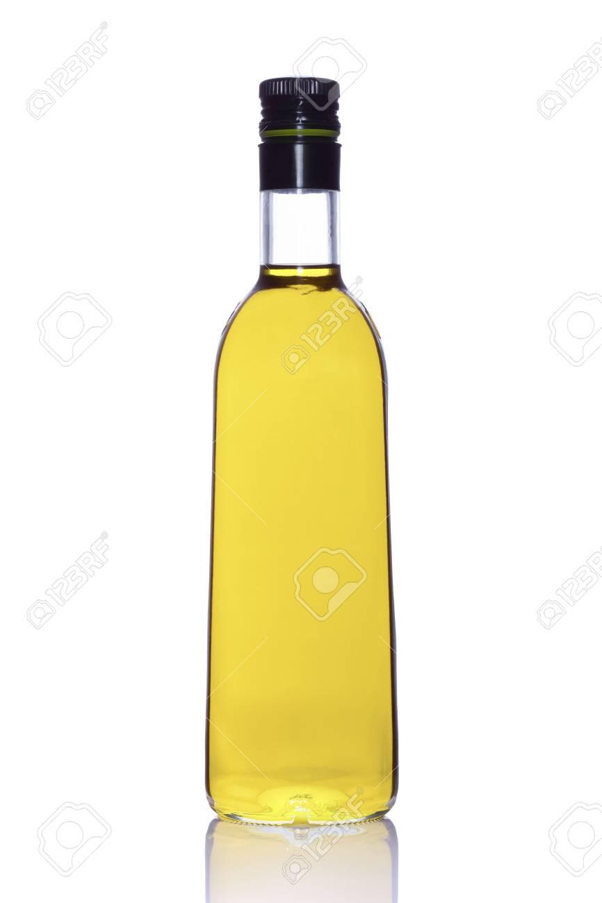 Bottle of Portuguese extra virgin olive oil isolated on white background Stock Photo - 5125603