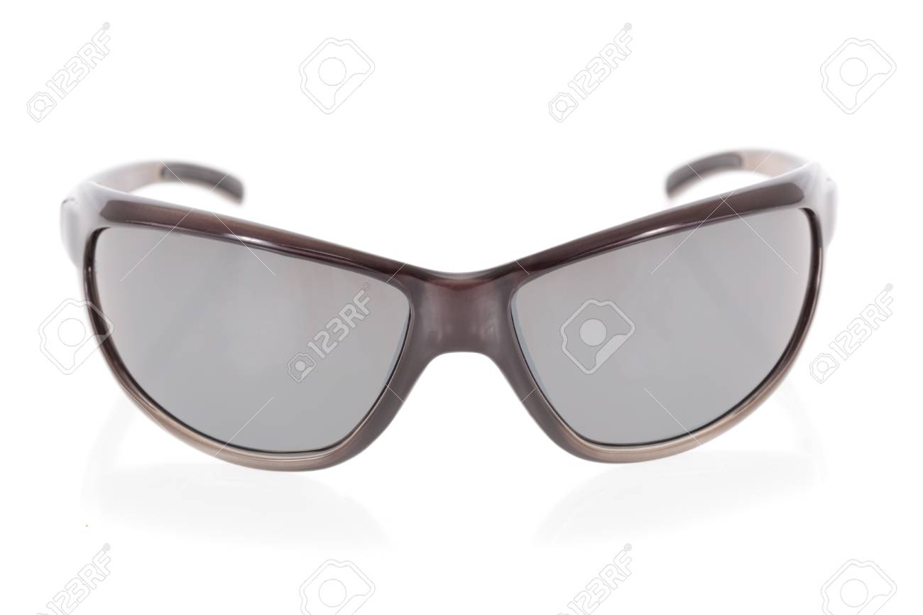 Sports sunglasses isolated on a white background Stock Photo - 9536246