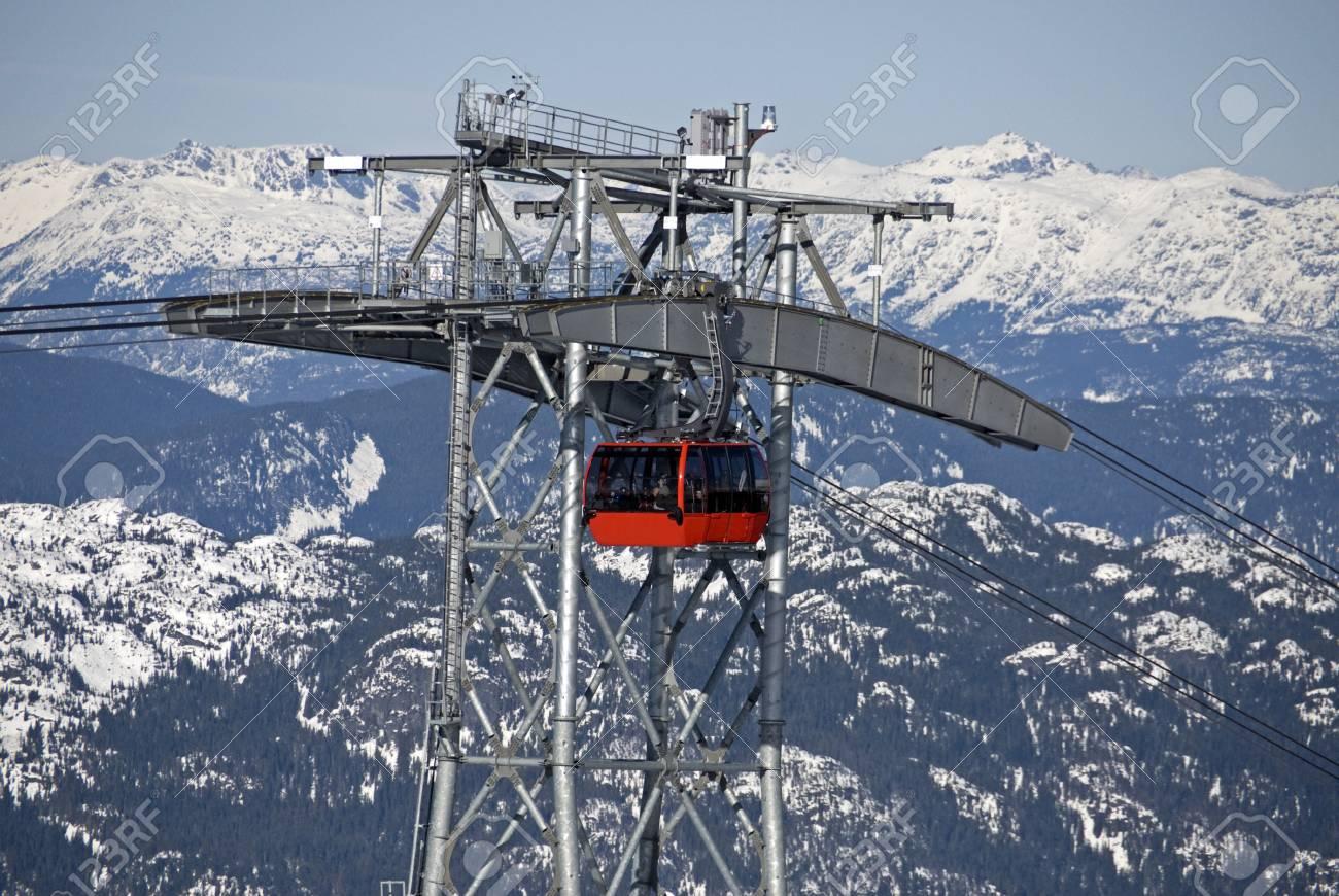 Alpine scene with Gondola Stock Photo - 11489184
