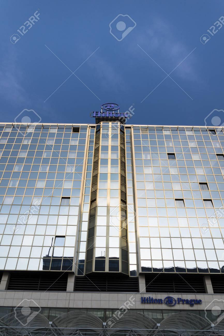 Prague Czech Republic March 31 Hilton Hotels And Resorts Stock