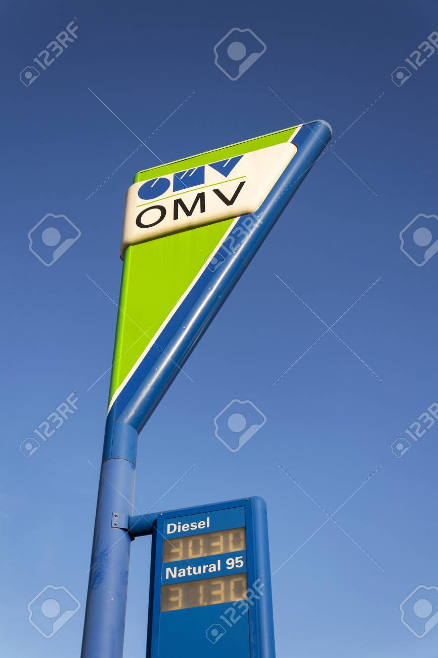 PRAGUE, CZECH REPUBLIC - DECEMBER 16: OMV international oil and