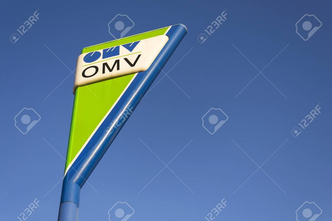PRAGUE, CZECH REPUBLIC - DECEMBER 16: OMV international oil and