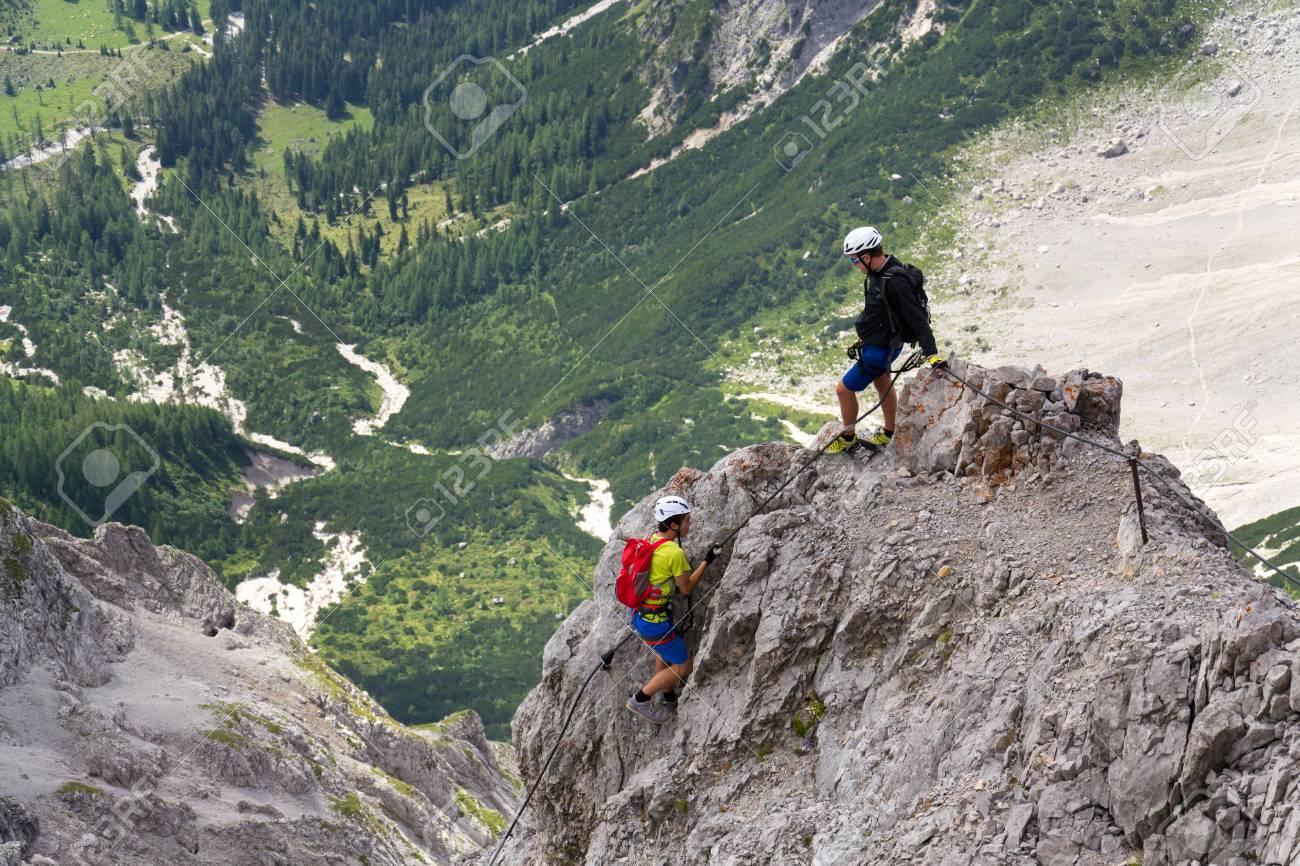 Klettersteig österreich : Spannende touren in Österreichs schönsten klettersteigen