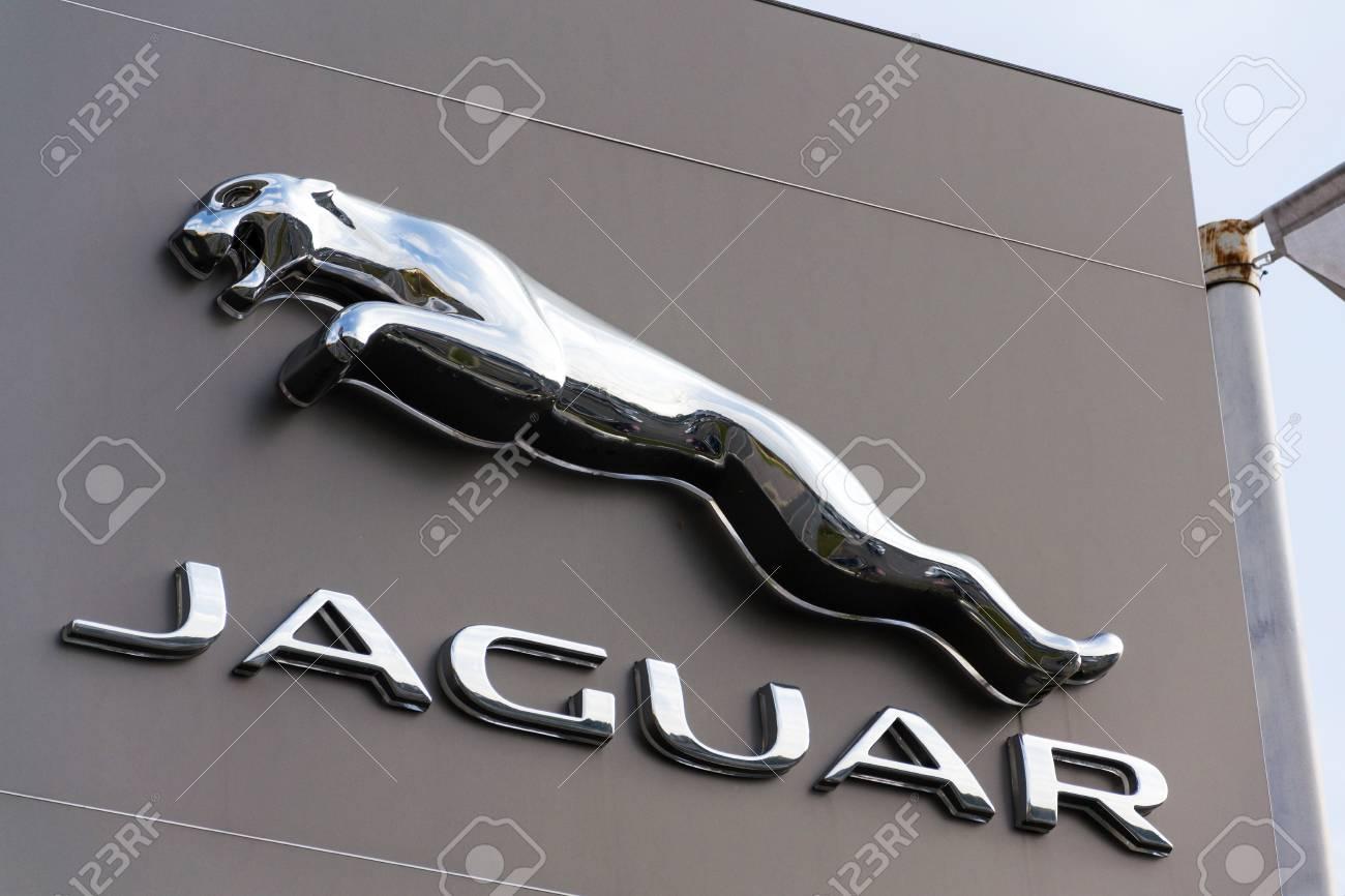 Prague Czech Republic November 5 Jaguar Car Manufacturer Stock