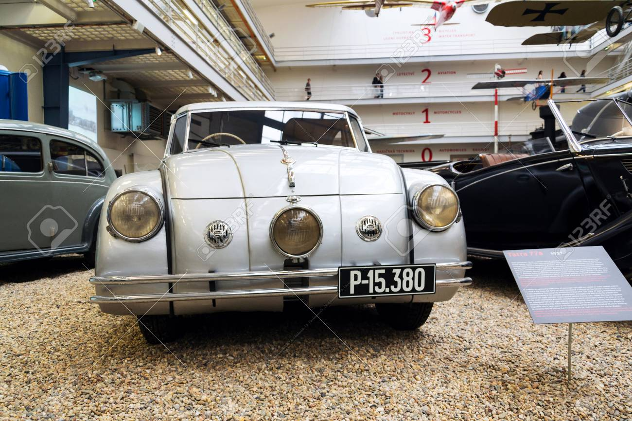 PRAGUE, CZECH REPUBLIC - NOVEMBER 10: Car Tatra 77 A From Year ...