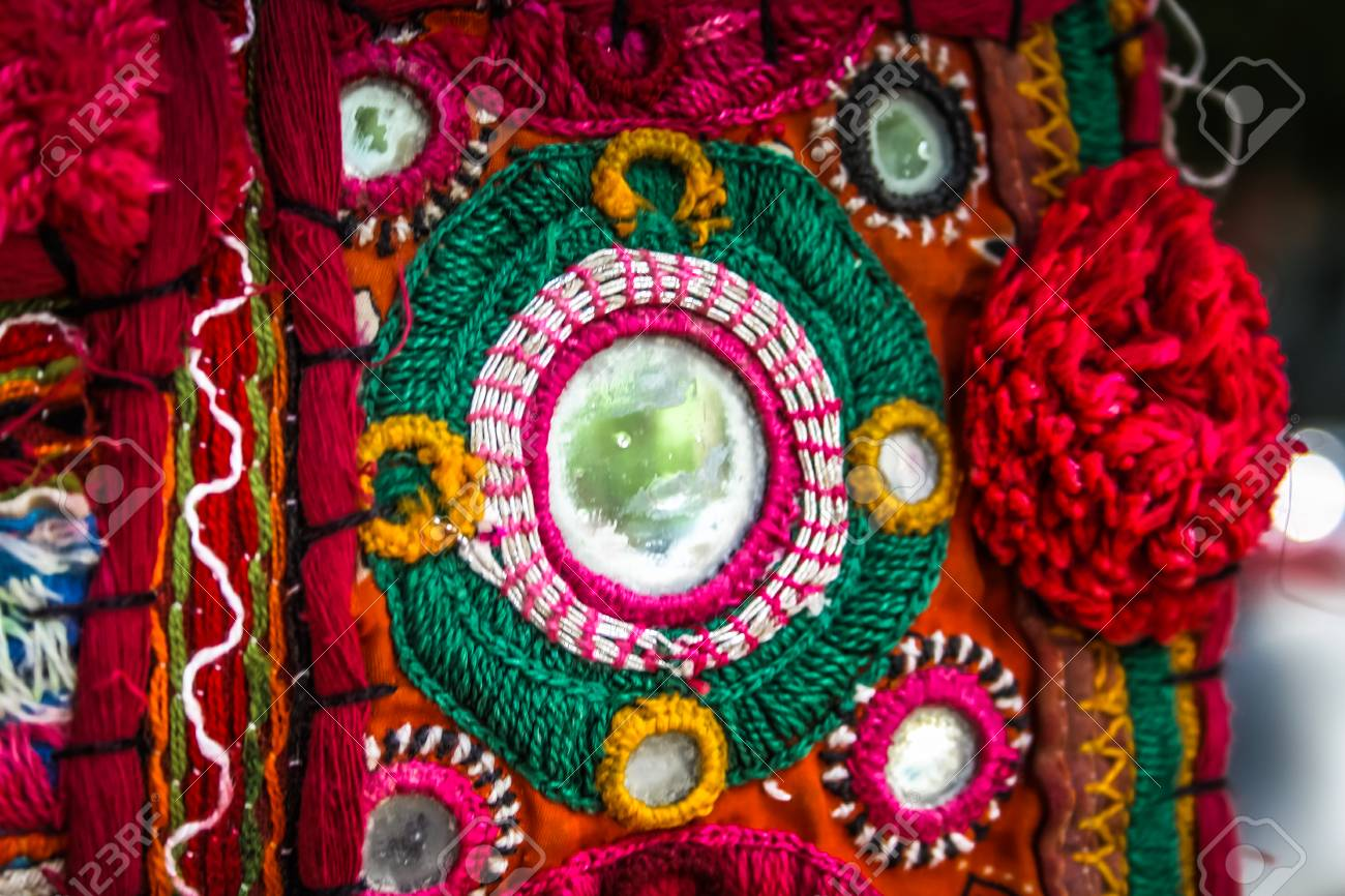 Handicrafts Sold In A Souvenir Shop In Goa Southern India Stock