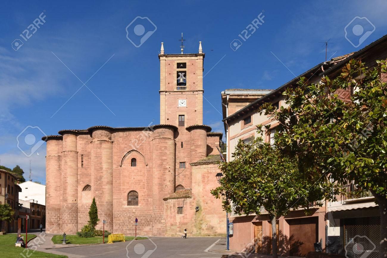 Santa Maria La Real Monastery Najera La Rioja Spain